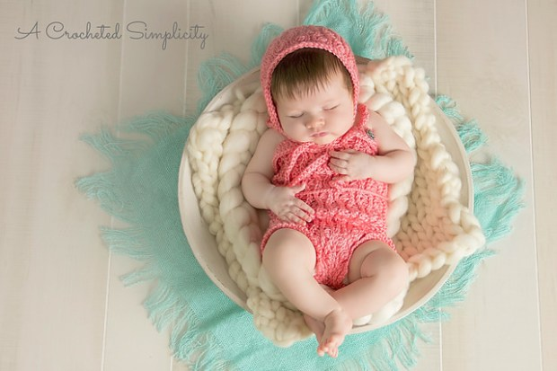 Summer Waves Romper by A Crocheted Simplicity