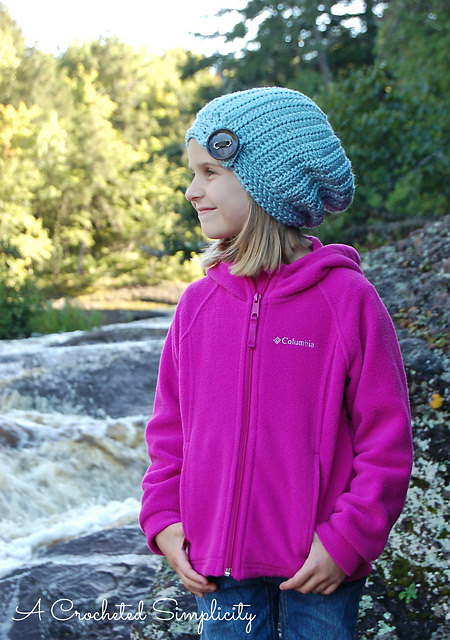 Knot Knit Slouchy by A Crocheted Simplicity