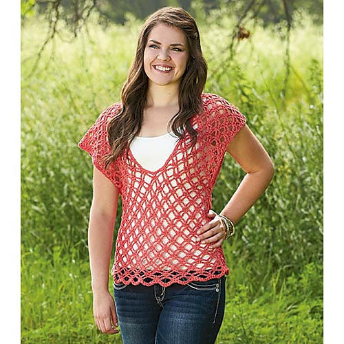 FREE Alhambra Top by Willow Yarns
