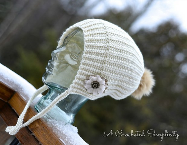 Winter Poms Slouch by Jennifer Pionk