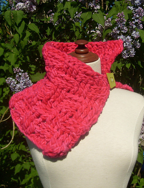 Pink Yoda Cowl by ACCROchet