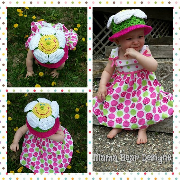 Blooming Lovey and Sunhat by Snappy Tots