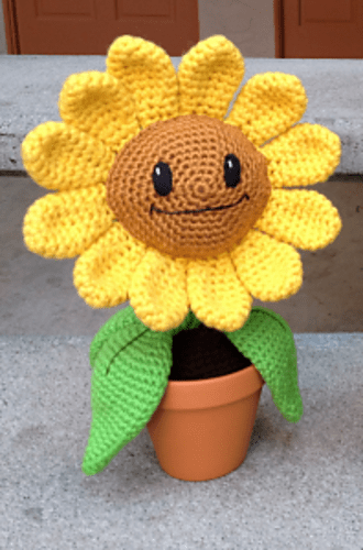 Happy Sunflower by Ink & Stitches