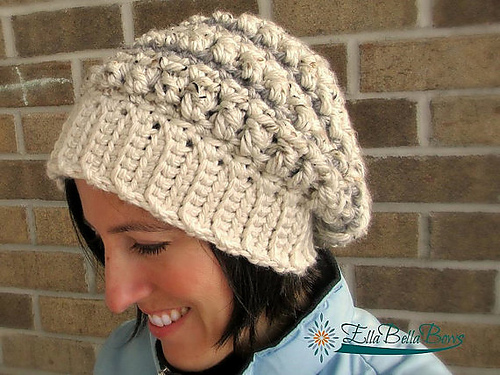 Knotted Threads Slouch by Jennifer Pionk- A Crocheted Simplicity