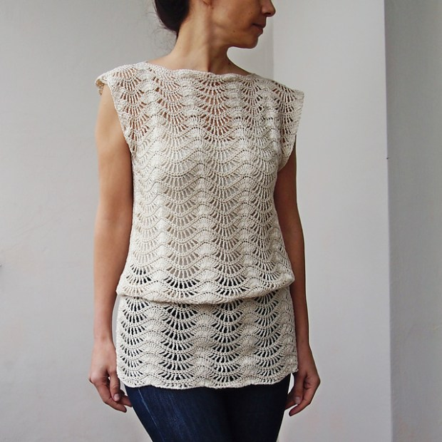 Spring summer top tunic by Accessorise