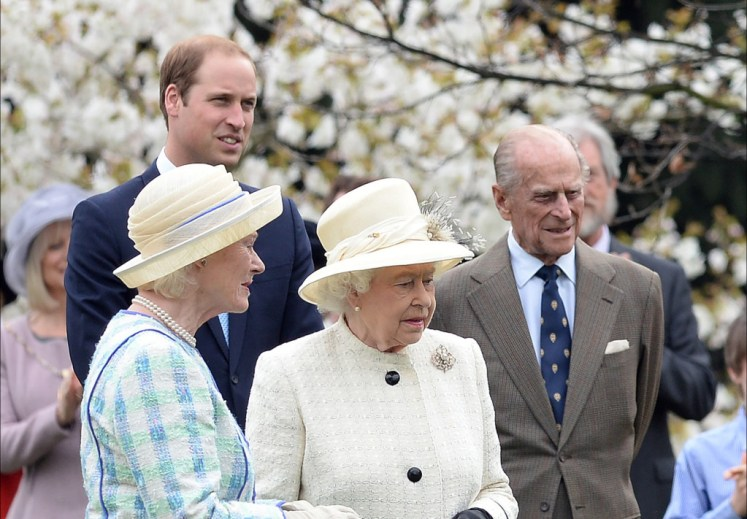 WIlliam has praised his grandmother in a foreword. Picture by Andrew Parsons / i-Images