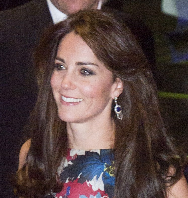 Image ©Licensed to i-Images Picture Agency. 27/10/2015. London, United Kingdom. The Duchess of Cambridge arrives at The Victoria and Albert Museum in London, to attend 100 women in Hedge Funds gala dinner in aid of The Art Room. Picture by Ben Stevens / i-Images
