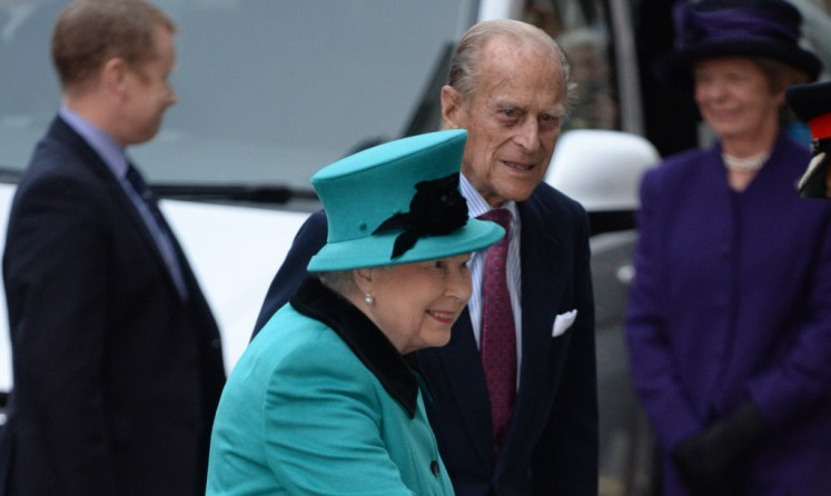 The Queen wrote a letter aged 21 detailing how she fell in love with Prince Philip. Picture by Andrew Parsons / i-Images