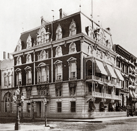The Jermone mansion in New York. American Buildings Survey - Library of Congess HABS Collection.