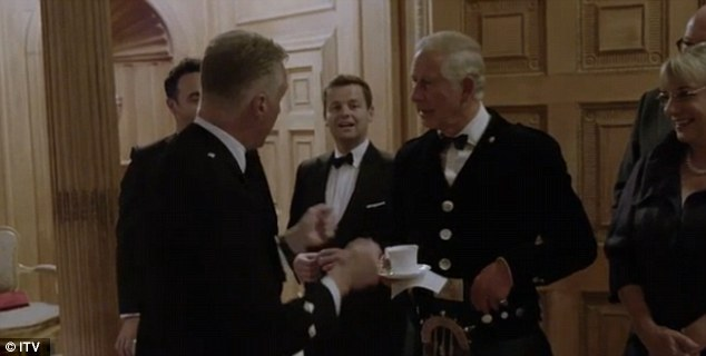 Prince Charles sings at Dumfries House - and proves he can hold a tune. (ITV)