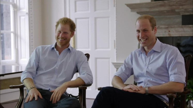 Prince William swears in 'When Ant and Dec met the Prince' (ITV)