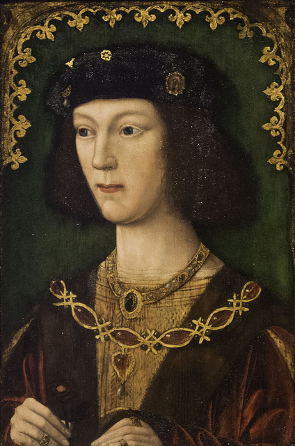 A young Henry VIII. Mark Mauno