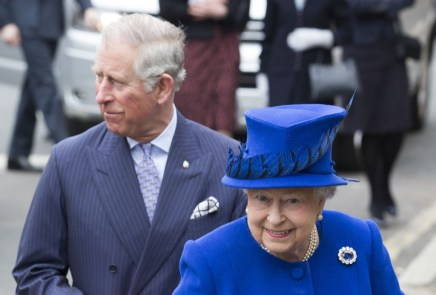 Most people are in favour of The Queen passing the throne to Prince Charles, who ha  [caption id=