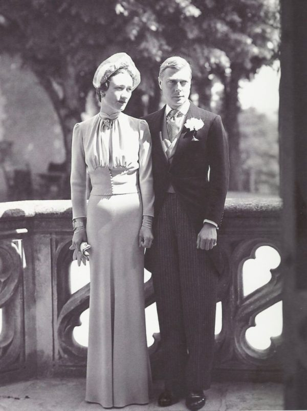 Edward VIII, Duke of Windsor gave up the throne to marry Wallis Warfield (Simpson). (Lost Gallery)