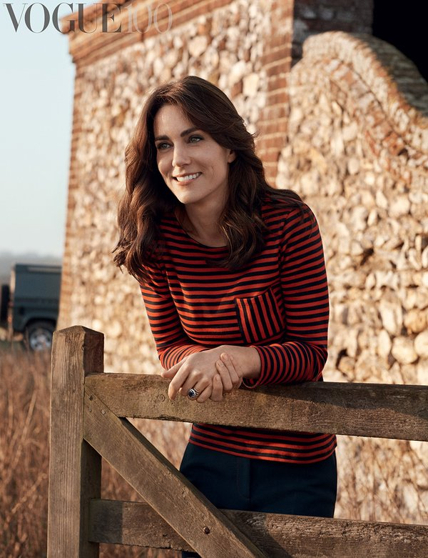 Another image of the Duchess in Vogue