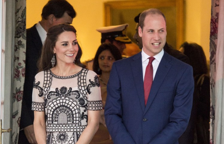 The Duke and Duchess of Cambridges home, Anmer Hall, were protected by a team led by Sarah Hamlin.  Picture POOL /  i-Images.