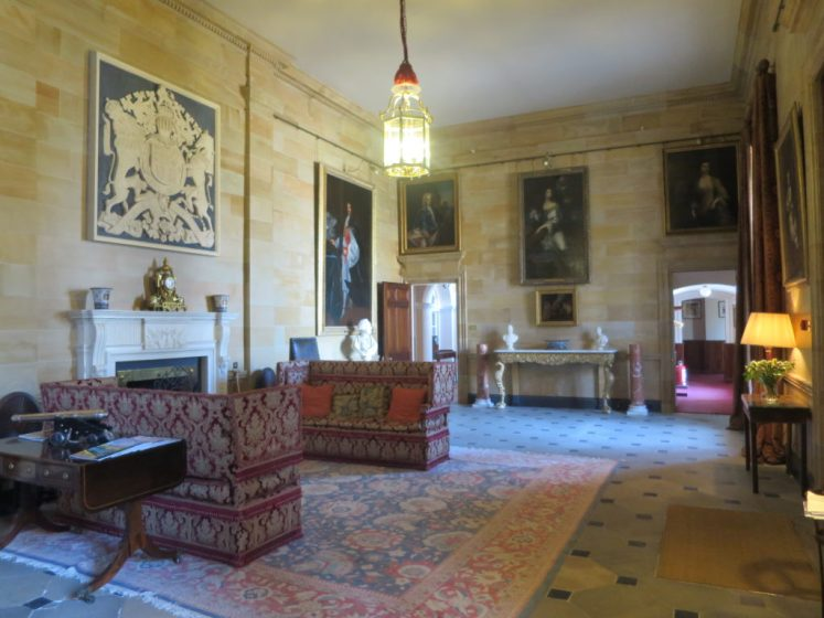 The grand entrance hall at Hillsborough Castle Victoria Howard)