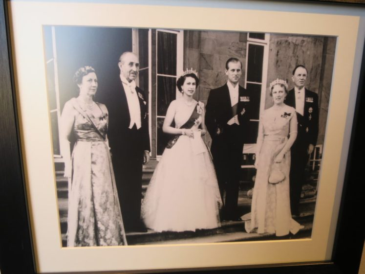 The Queen, Queen Mother and Princess Margaret often visited Hillsborough as was The Queen Mothers brother-in-law © Victoria Howard