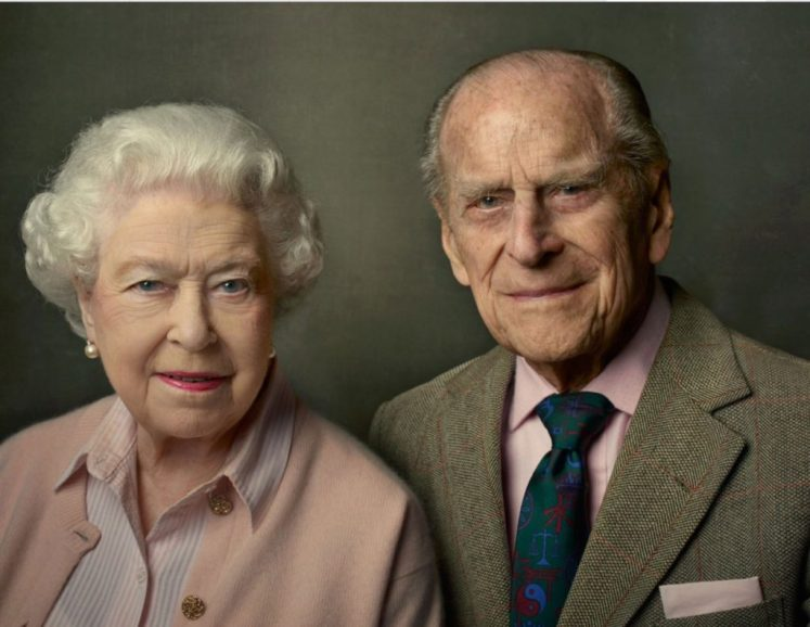 The Queen and Prince Philip in the last of Annie Leibovitz's portraits