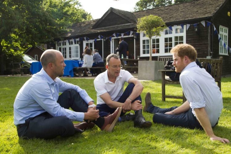 Harry chats to Johnathan Trott Heads Together