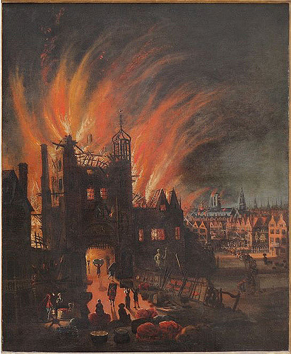 Lasting four days, the Great Fire of London was destructive, costing thousands of peoples homes emmeffe6)