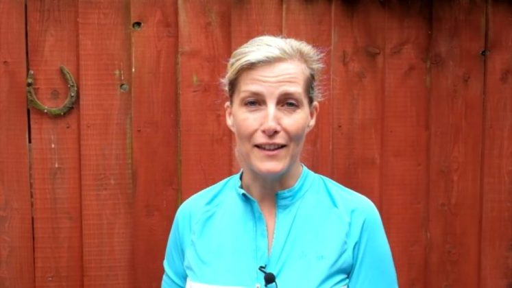 Sophie, Countess of Wessex, is still in training for her 445 mile cycling challenge