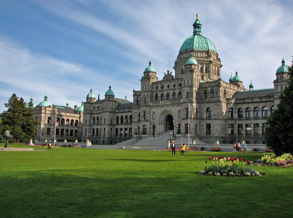 William and Kate will visit Victoria's Parliament Buildings (Alyson Hurt)