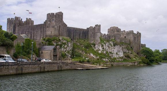 Pembroke Castle, where Margaret gave birth to Henry VII Ed Webster