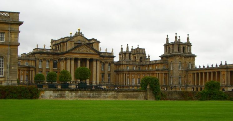 Blenheim Palace, the marital home of Consuelo Vanderbilt, Duchess of Marlborough Andres Feliciano
