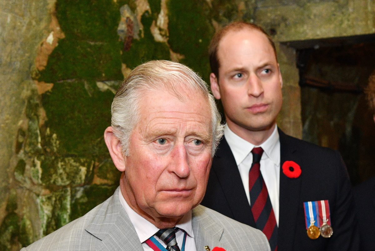 Charles & William send sympathies to Manchester plus Europe in solidarity with flags at half-mast