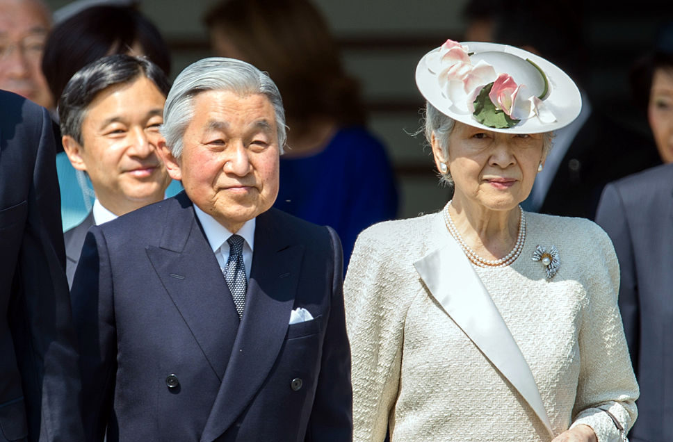 japanese Japanese Emperor Akihito will abdicate 30 april 2019