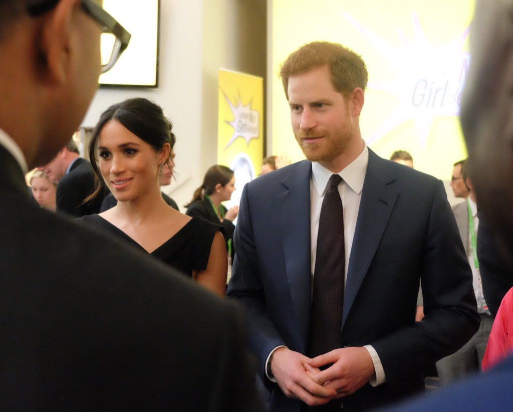 Harry and Meghan attend Empowerment reception
