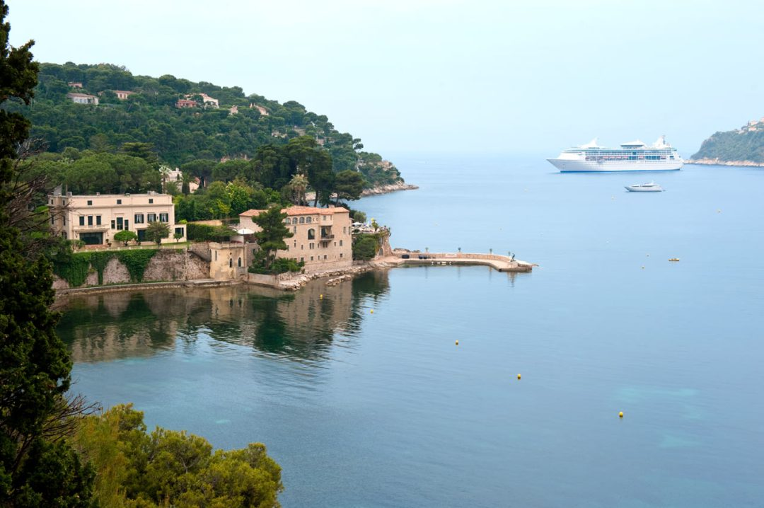 Grandeur of the Seas in Villefranche