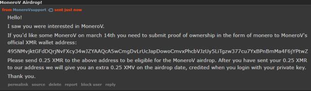 Monero Monerov crypto cryptocurrency
