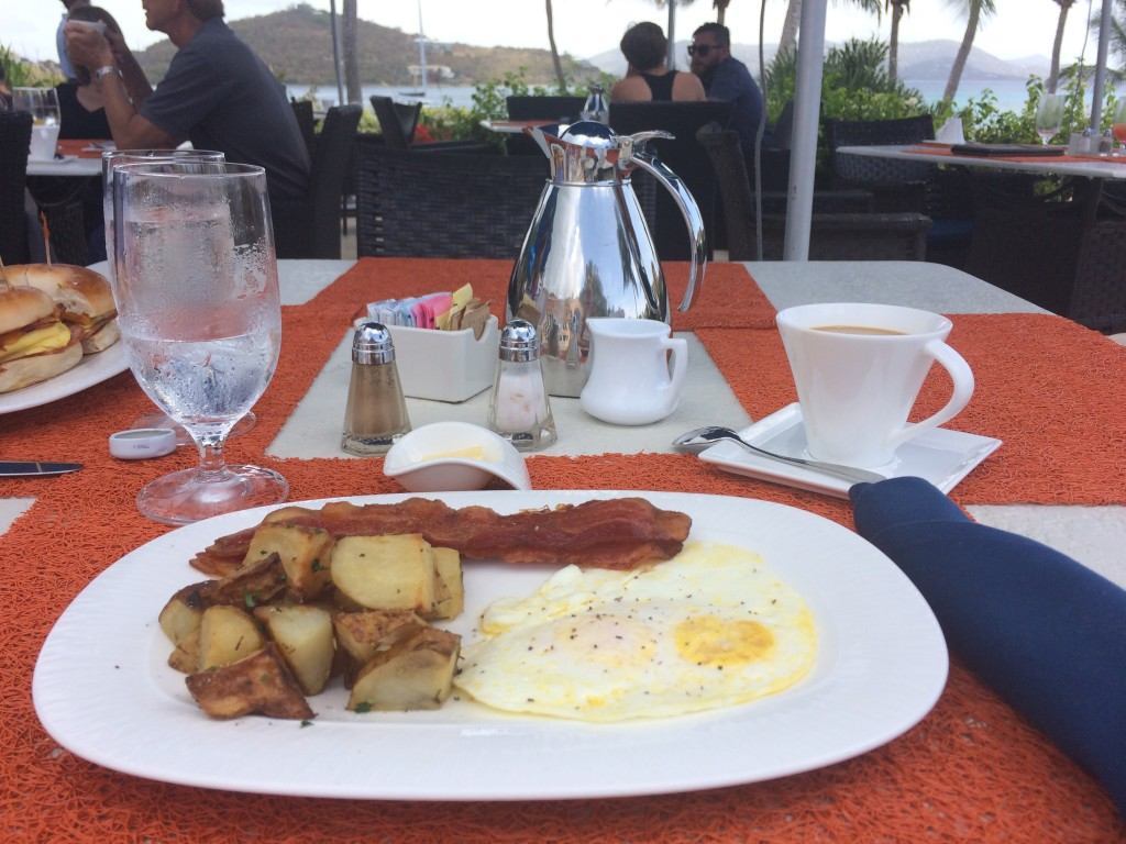 ritz carlton st. thomas breakfast