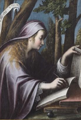 Orsola Maddalena Caccia Sibilla Persica, quinto decennio del XVII sec. Olio su tela, 110x78,5 cm Collezione Fondazione Cassa di Risparmio di Asti