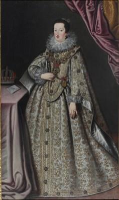Giustina Fetti (Suor Lucrina) Eleonora I Gonzaga, 1622 Olio su tela, 201,8x119,9 cm Complesso Museale Palazzo Ducale di Mantova.