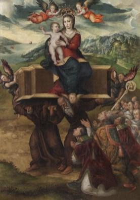 Sofonisba Anguissola Madonna dell'Itria, 1578-1579 Olio su tavola, 239,5x170 cm Paternò (Catania), parrocchia Santa Maria dell'Alto, chiesa dell'ex monastero della Santissima Annunziata. Crediti fotografici: Fotostudio Rapuzzi