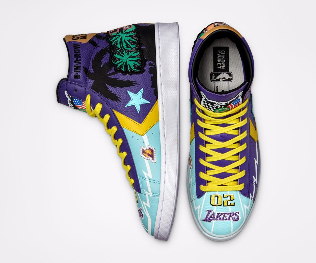 Converse x Chinatown Market_Pro Leather_Lakers_4