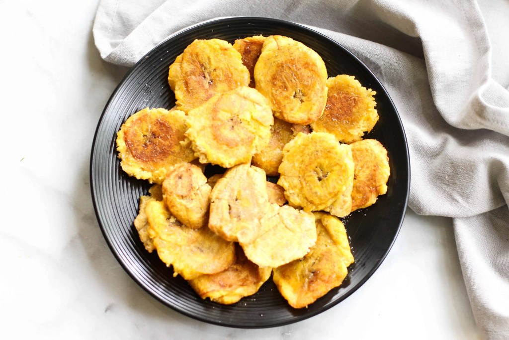 These Fried Plantains are really easy to make and are perfect for thoughts of a Caribbean summer!