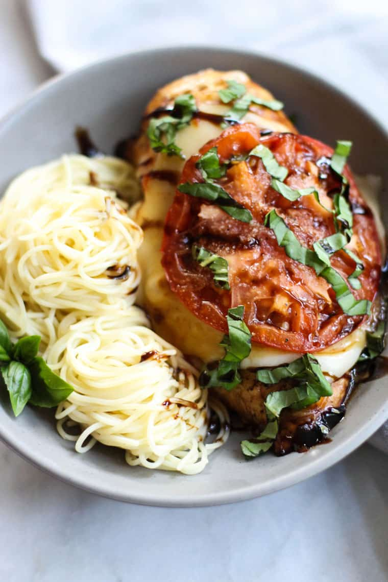 Baked Chicken Caprese
