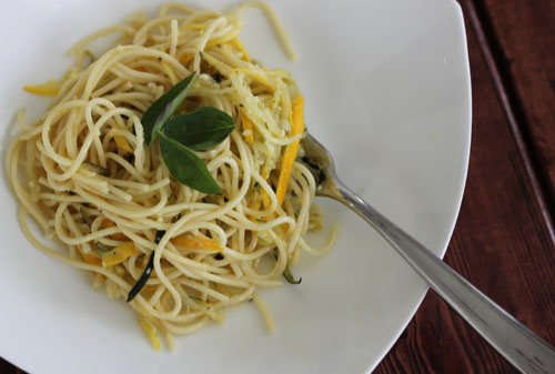 zucchini squash pasta