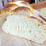 Poppy Seed Plaited Soft White Loaf