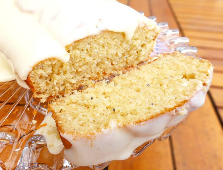 Gluten Free Pineapple and Chia Cake