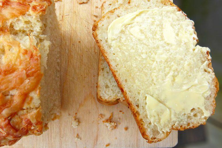 Feta and Chive Savoury Quick Bread
