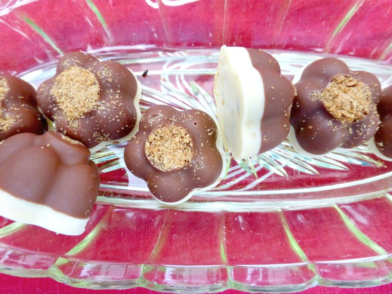 Simple Christmas Candy (Three Ways) - Milk and White Chocolates