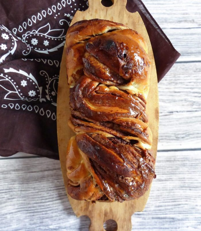 Glorious Nutella Babka from Scratch