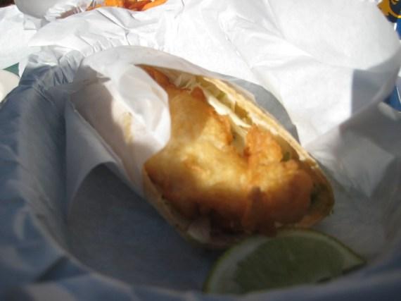 Flying Fish Grill Fish Taco