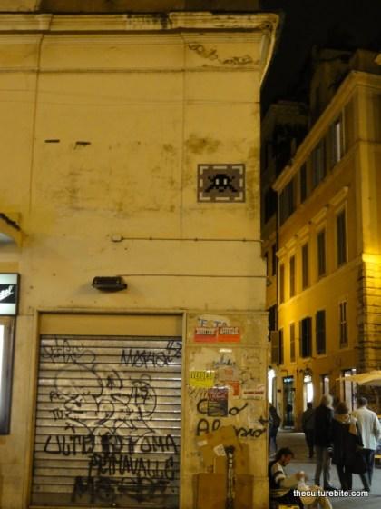 Rome Alien Wall
