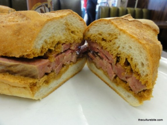 Chick N Coop Corned Beef Sandwich